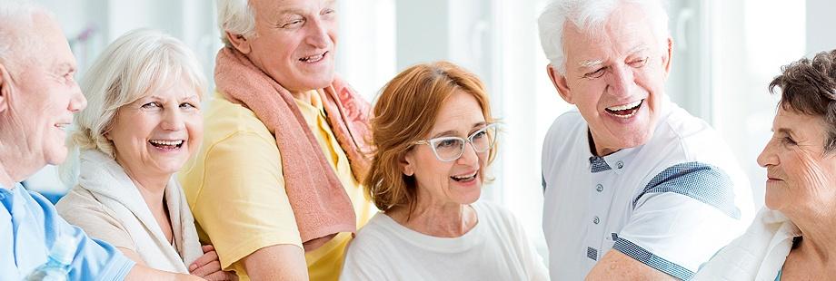 Personas mayores con buena salud bucodental tienen un mejor envejecimiento