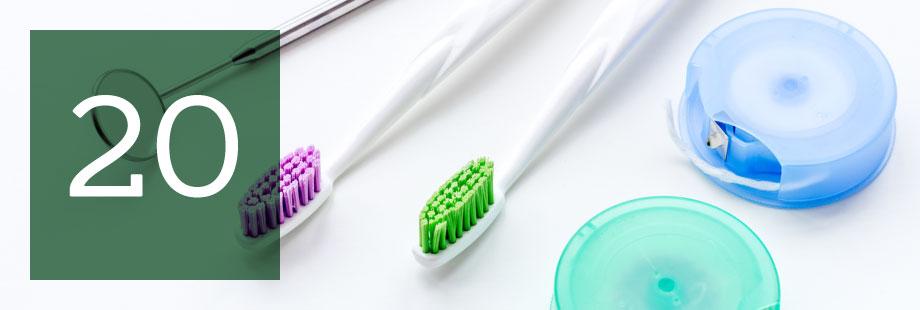 20 razones para visitar a tu dentista en 2020
