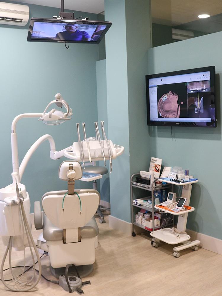 Instalaciones de las clínicas de Grupo Llona